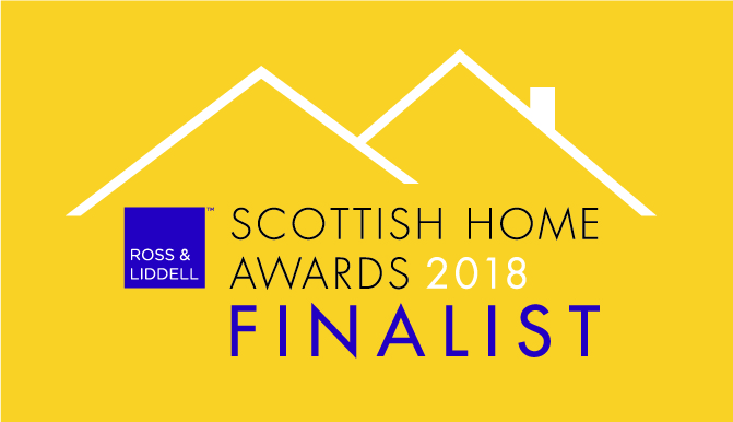 We've been shortlisted for The Scottish Home Awards