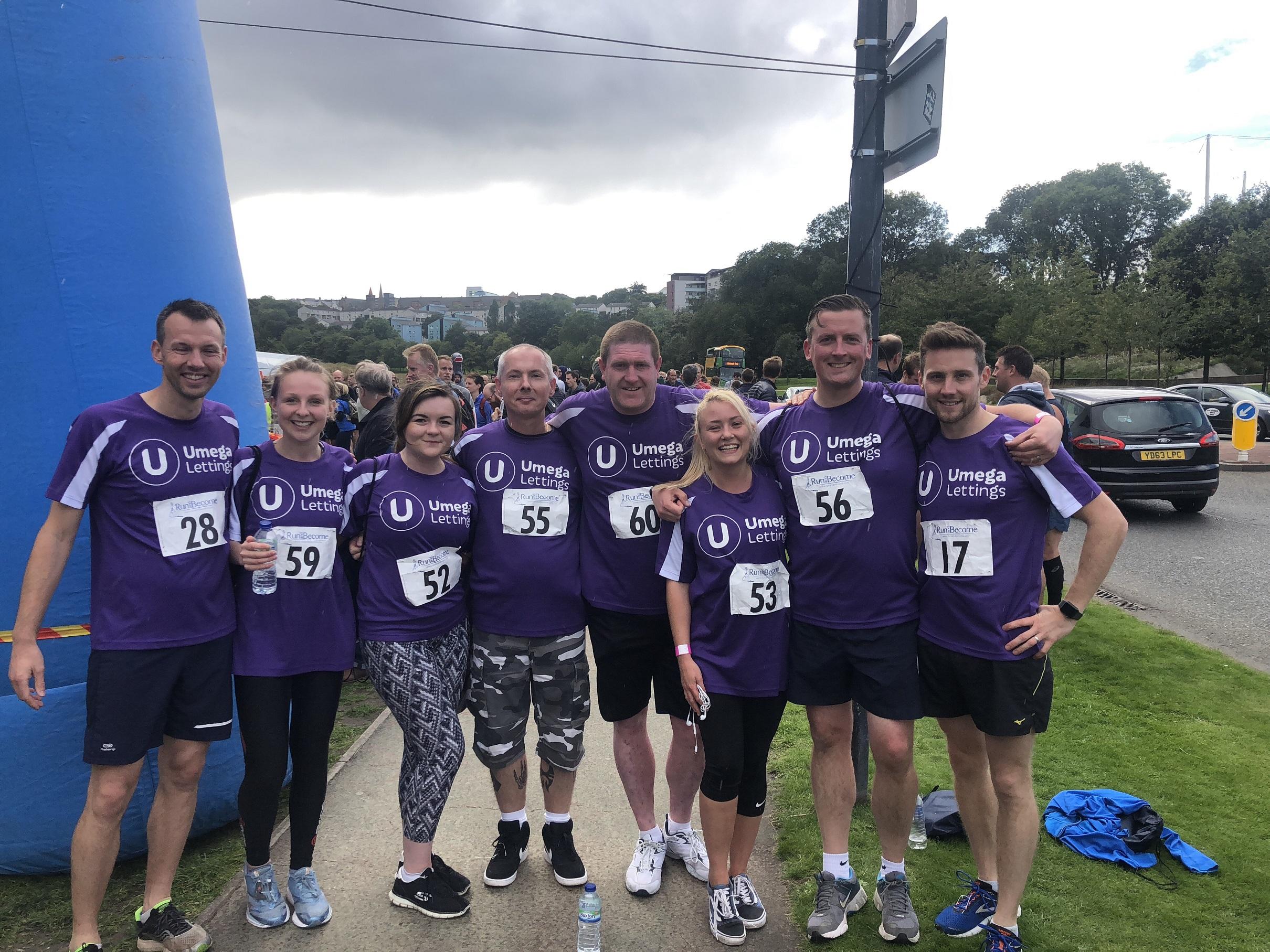 Umega Charity 5k Race - Edinburgh!