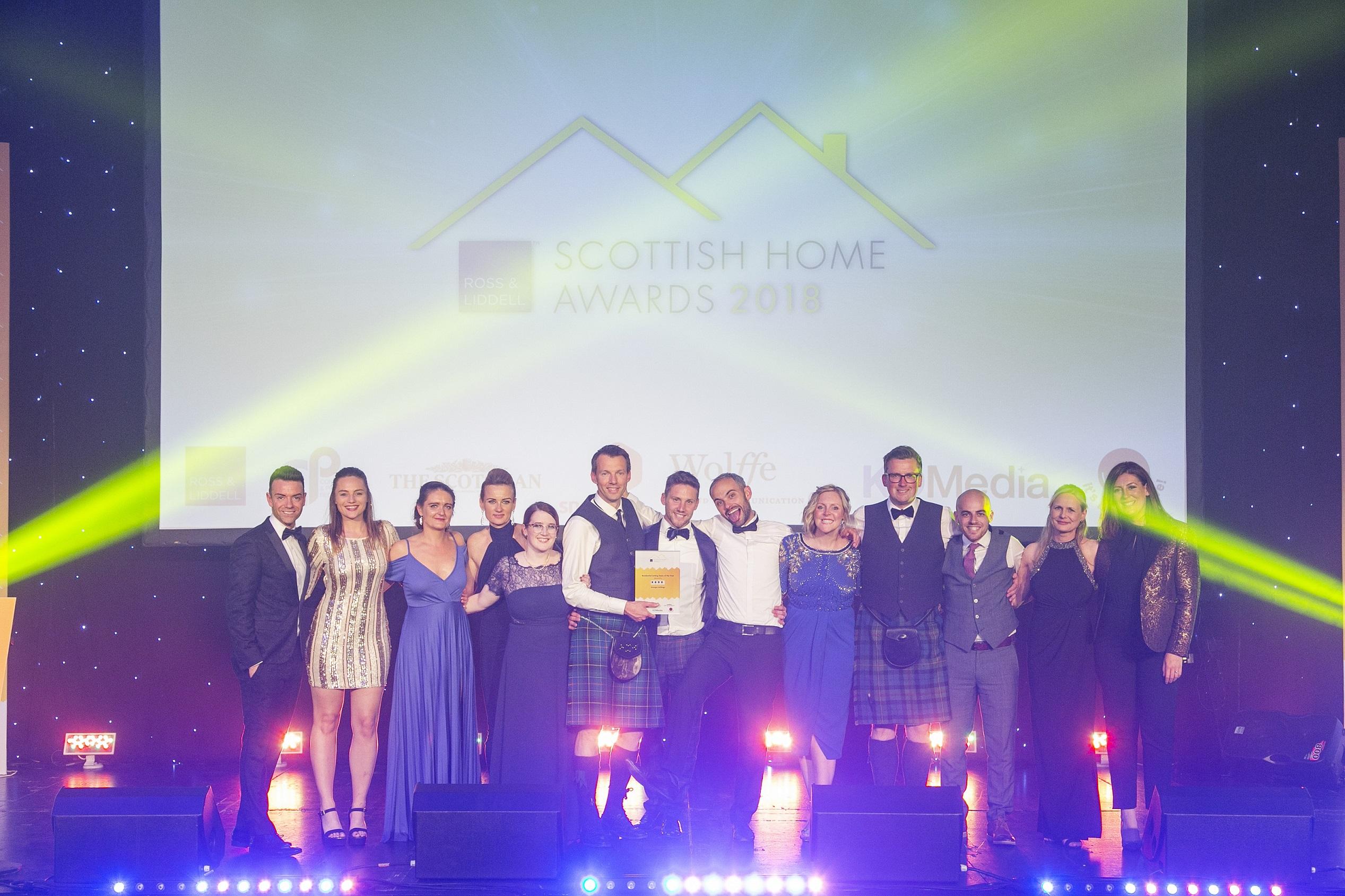 Scottish Home Awards Winner 2018!